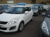 SUZUKI SWIFT SZ3 White Manual Petrol, 2014