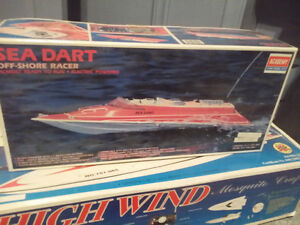 Two RC Boats For Sale