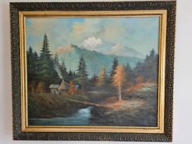H foster 1900 orginal oil painting