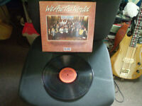 we are the world USA for AFRICA/the album 33 tour Lp