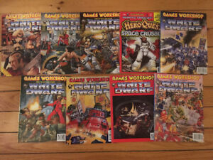 White Dwarf Magazine bundle from early 90s