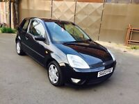 FORD FIESTA 1.4 ZETEC HATCH, BLACK, PETROL