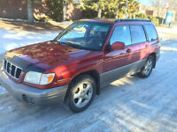 2002 Subaru Forester S SUV, Crossover AWD local car well maint.