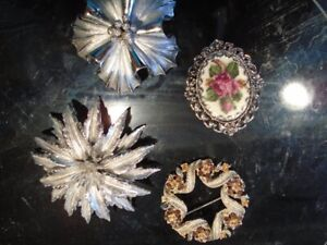 Estate Broaches   $45.   for all 4
