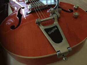 Gretsch Electromatic hollowbody with upgraded pickup!
