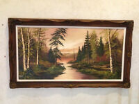 Michael K Roth Oil Painting, Known Canadian Painter!