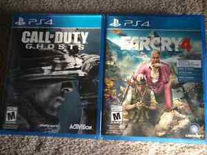 Ps4 Far Cry 4 & Call of Duty Ghosts