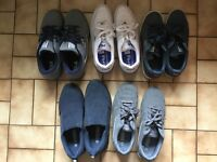 5 x pairs trainers etc. Puma, Fila, Lonsdale Size 9