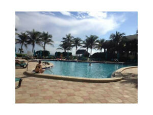 Florida Beach Front Condo Hollywood/Miami 1Br