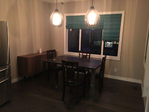 Basically new Perfect size dining table for sale.  only table