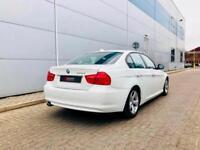 2011 61 reg BMW 320d EfficientDynamics Saloon WHITE + Facelift shape