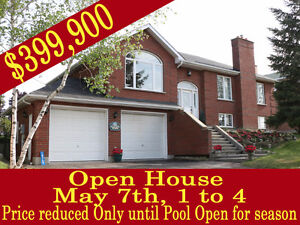 Open House - May 7 - 1 to 4