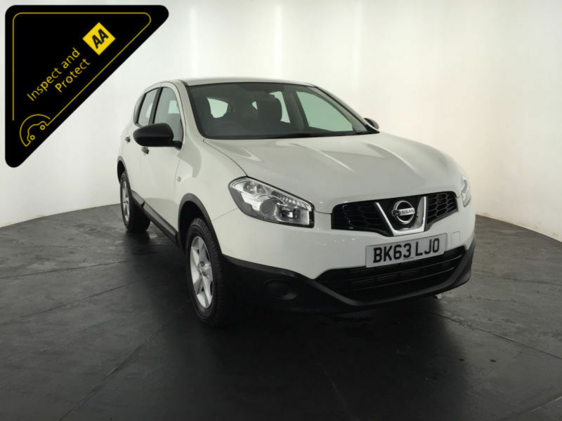 2013 63 NISSAN QASHQAI VISIA DCI DIESEL 1 OWNER NISSAN HISTORY FINANCE PX