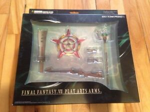 Final Fantasy VII play arts arms NEUF new square enix rpg