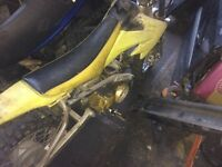 110cc semi automatic pit bike