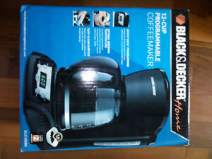 Brand new (unopened box) 12 cups programmable B&D Coffee makers