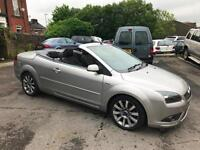 2008 FORD FOCUS CC-2 COUPE 2.0 TDCI CONVERTIBLE CABRIOLET HARD TOP