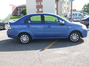 2007 Chevrolet Aveo LT Berline