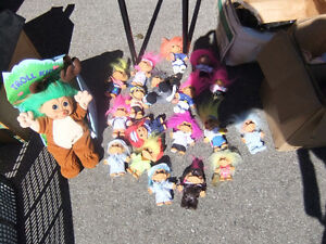 collection of brand new trolls almost 20 of them