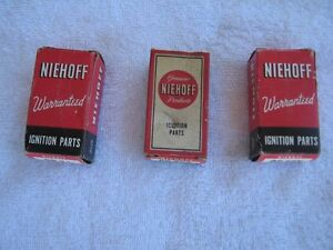 """Collectable Empty Ignition """"Niehoff"""" Boxes"""