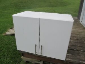 WHITE STORAGE CABINET CUPBOARD