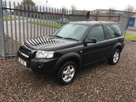 2006 LAND ROVER FREELANDER 2.0 Td4 Adventurer Hardback 3dr