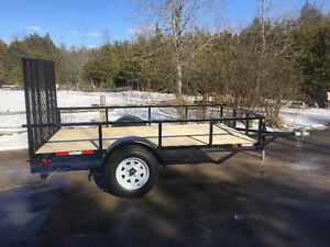 New Custom Built Utility Trailer