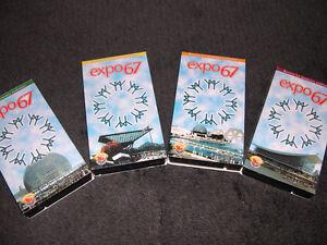 Expo 67 - Terres des Hommes - Coffret de 4 cassettes Vidéo VHS