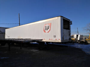 53 Ft Great Dane reefer trailer no unit. Very  solid !