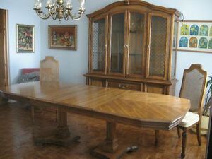 Living room, dining room, bedroom sets - European-solid all wood