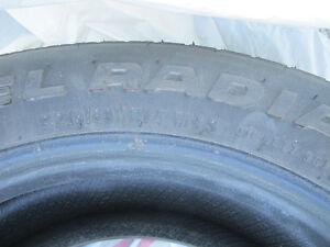 2 @ SX 9000 HR RADIAL TIRES ( $ Negotiable) West Island Greater Montréal image 6