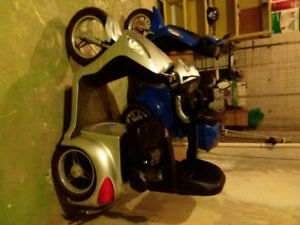 Electric E-bike Mobility Scooter