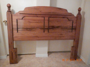 Queen or Double Bed Frame Solid Pine
