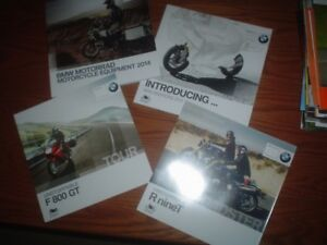 BMW BROCHURES FROM 2014 SEE PICS - NEW !!!  TOTAL OF 4