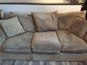 Beautiful sage couch for sale