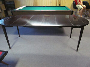 Beautiful Table For Sale & 3 chairs, seats 12 people