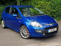 Fiat Punto Evo 1.6 16v Multijet 120 ( s/s ) Sporting With FULL LEATHER INTERIOR!