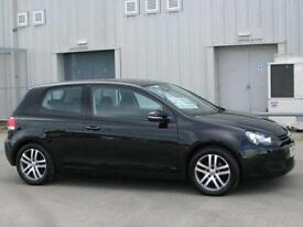 Volkswagen Golf 2.0TDI CR SE 3 Door Hatch Back Black