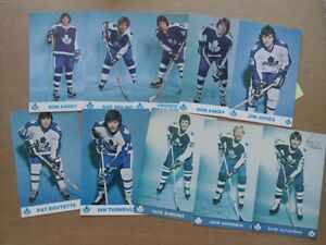 TORONTO MAPLE LEAFS POSTCARDS.