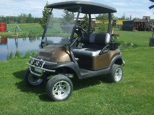 Club Car custom golf car, golf cart, electric golf car