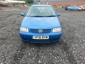 Volkswagen Polo 1.4 Match 3 DOOR - 2001 51-REG - JUST OUT OF MOT