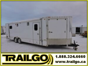 2012 Usagée Motoneige 8.5x26 10000 lbs Used Snowmobile Enclosed