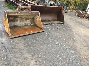Snow bucket, excavator ditching Bucket, skid steer snow plow