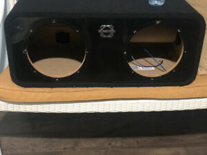 2 10inch bassworx subwoofer box