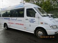 MERCEDES SPRINTER 416 LWB 17 SEATER MINIBUS £3995+Vat