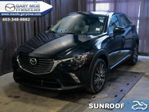 2017 Mazda CX-3 GT  - Navigation -  Sunroof -  Leather Seats - $