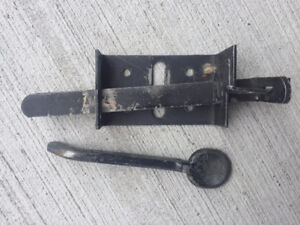 Gate Fence hardware - handles and latch
