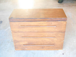 Low Rise 3 Drawer Bureau