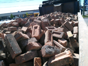Brick Fill for hole, road - Free Delivery