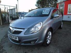 2008 Vauxhall Corsa 1.4i 16V SXi 5dr [AC] Low mileage,12 months mot,Warranty,...